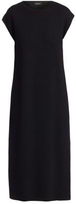Akris Reversible Knit Midi Dress