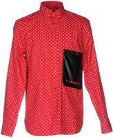 Red Polka Dot Shirt Men - ShopStyle