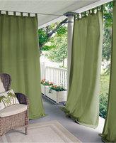 """Elrene Matine Solid Indoor/Outdoor 52"""" x 95"""" Panel Bedding"""