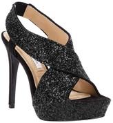 Diane von Furstenberg 'Zia' glitter encrusted sandal
