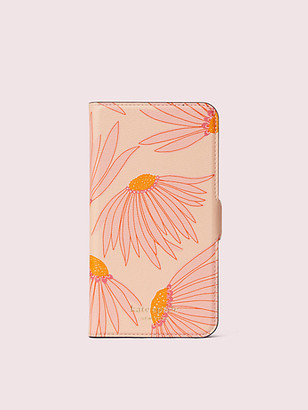 Kate Spade Falling Flower Iphone 11 Magnetic Wrap Folio Case