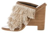 Tibi Ophelia Slide Wedge Sandals