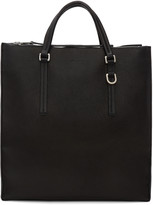 Rick Owens Black Edith Vertical Shopper Tote