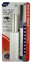 Almay One Coat Nourishing Thickening Mascara + Eyeliner Twin Pack Black # 403 11.8 ml by