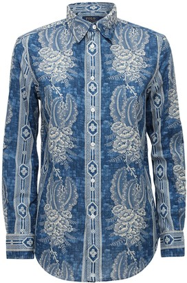 Polo Ralph Lauren Printed Cotton Shirt