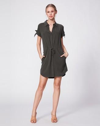 Paige Avery Shirtdress-Scarab