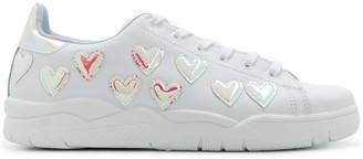 Chiara Ferragni Heart-Embellished Low-Top Sneakers