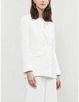Thumbnail for your product : Whistles Annie woven wedding blazer