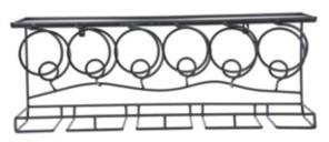 Oenophilia Wine Bar Wall Rack