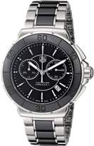 Tag Heuer Women's Formula One Chronograph Watch Black CAH1210.BA0862