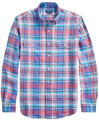 Polo Ralph Lauren Classic-Fit Multicolor Plaid Shirt
