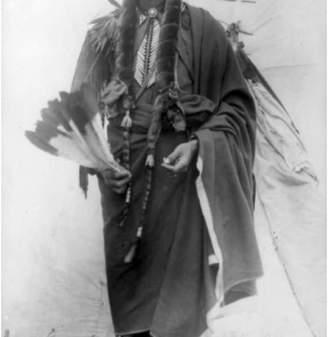 """Parker Lantern Press """"Comanche Chief Quanah Photograph"""" Print, 24""""x36"""""""