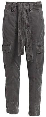 NSF Poppy Ruffle Cargo Pants