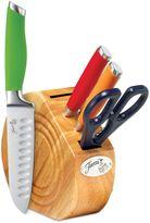 Fiesta 5-Piece Multicolored Cutlery Block Set