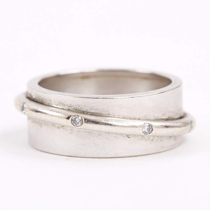 Dinh Van Silver White gold Ring
