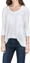 Lilla P Pocket Front T-Shirt - Pima Cotton-Modal, Long Sleeve (For Women)