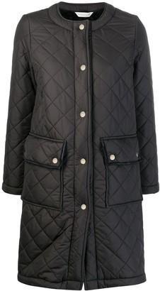 MACKINTOSH HUNA Black Quilted Coat | LQ-1006