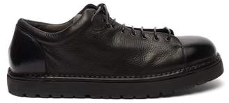 Marsèll Pallottola Grained Leather Derby Shoes - Mens - Black