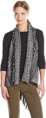 Jack Women's Darice Acrylic Intarsia Sweater Vest