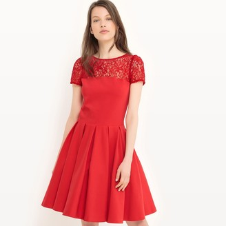 La Redoute Collections Laced Skater Dress