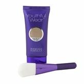 Physicians Formula Youthful Wear Cosmeceutical Youth-Boosting Foundation + Brush, Medium Beige