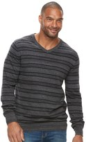 SONOMA Goods for Life Big & Tall SONOMA Goods for LifeTM Classic-Fit Coolmax V-Neck Sweater