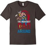 Marvel Thor Mightiest Dad Graphic T-Shirt