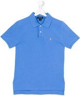 Ralph Lauren logo polo shirt - kids - Cotton - 14 yrs