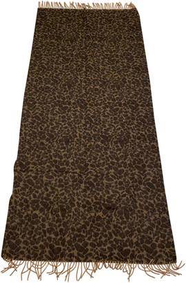 Acne Studios Brown Wool Scarves