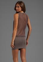 Riller & Fount Jason Fishnet Back Dress