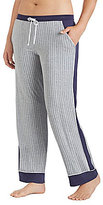 DKNY Plus Striped Jersey Sleep Pants