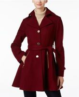 INC International Concepts Belted Skirted Swing Coat, Only at Macy's