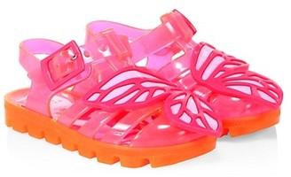 Sophia Webster Little Girl's & Girl's Butterfly Jelly Sandals