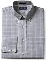 Classic Men's Traditional Fit Pattern No Iron Buttondown Collar Royal Oxford Shirt-Malachite Dot
