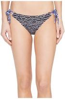 Echo Fleur De La Mer String Bikini Bottom Women's Swimwear