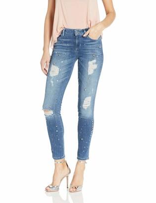 GUESS Women's Flourish Indigo 1981 Skinny Jean