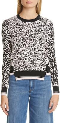 Stella McCartney Animal Jacquard Sweater