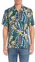 Tommy Bahama Men's Standard Fit Jungle Punch Silk Camp Shirt