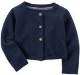 Carter's Baby Girl Solid Cardigan