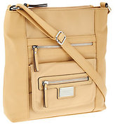 Tignanello Pebble Leather Large Function RFID Crossbody