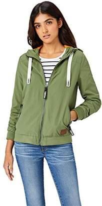 HIKARO Women's Lightweight Hooded Jacket,(Manufacturer size: Small)
