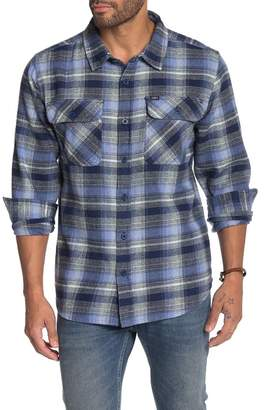 Obey South Pass Woven Plaid Shirt