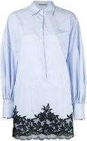 Ermanno Scervino striped shift shirt dress - women - Cotton - 40