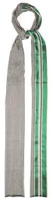 Haider Ackermann Vathy Silk-blend Scarf - Womens - Green