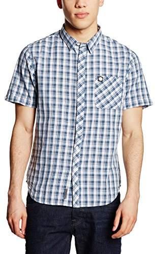 Voi Jeans Men's Dock Slim Fit Short Sleeve Casual Shirt