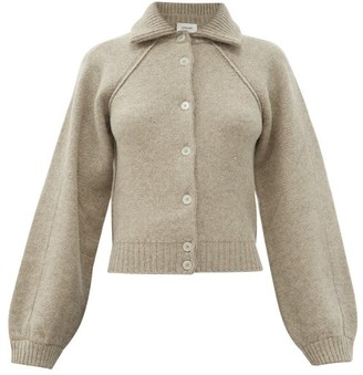Lemaire Collared Wool Cardigan - Grey