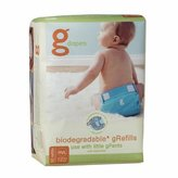 gDiapers gDiape Roasted Flushable Refills - Medium/Large - 32 Count