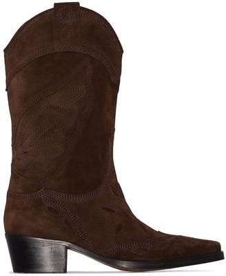 Ganni Texas cowboy boots
