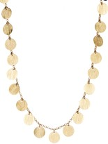 Rivka Friedman Satin Disc Necklace
