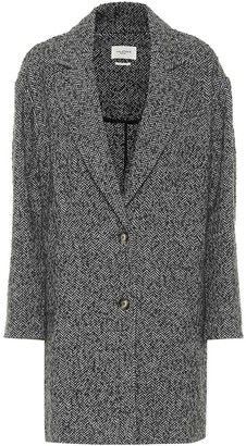 Etoile Isabel Marant Dante herringbone wool coat